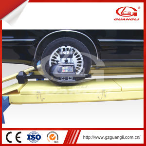 Four-Post Lift for Four-Wheel Alignment (GL-3.5-4D1) pictures & photos