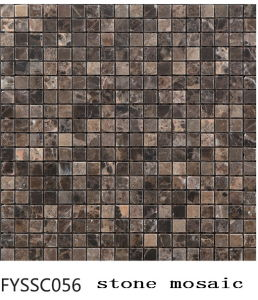 Floor Tile 300*300 Rustic Construction Material Marble Mosaic for Building Material (FYSSCO56)