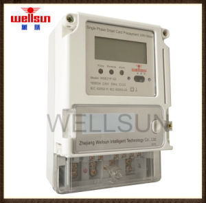Single Phase Prepayment Multi-Traiff Smart Meters pictures & photos