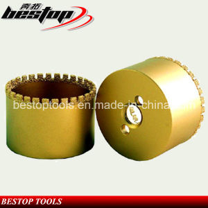 Crown Teeth Vacuum Brazed Drill Bits for Ductile Cast Iron pictures & photos