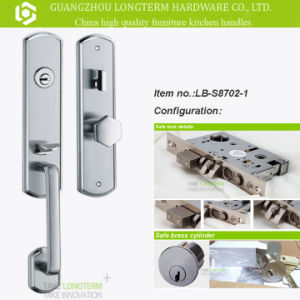 Luxurious Stainless Steel Gate Lock and Handle with SGS Approval pictures & photos