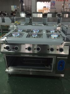 6 Burner Gas Range with Electric Oven (HGR-96E) pictures & photos