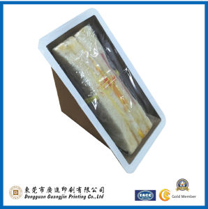 Customized Food Sandwich Packing Box with Wondow (GJ-box998) pictures & photos