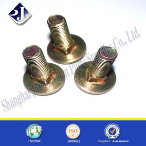 Carriage Bolt Zinc Plated 8.8 DIN603 SGS pictures & photos