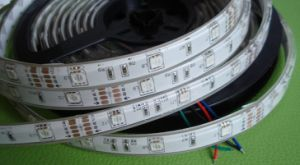 24 Volt Flexible LED Strip Lighting/Flexible LED Tape Strip 5050SMD pictures & photos