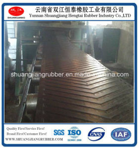 V Belt Patterned Rubber Conveyor Belt pictures & photos