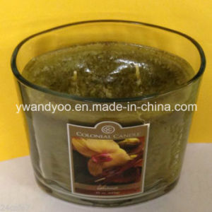 Hot Sale Scented Soy 3-Wicks Candle in Glass, Gift Candle