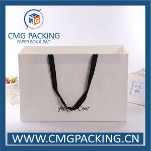 Matt Lamination Paper Garment Shopping Bag (CMG-MAY-010) pictures & photos