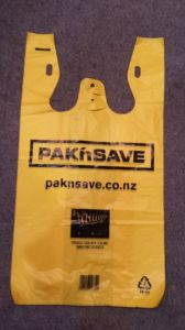 Newzeland Printed Shopping T-Shirt Bag pictures & photos