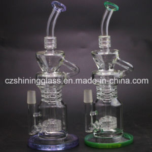 Pop Manufacturer Price Water Pipe Glass Smoking Pipe Czs-28 pictures & photos