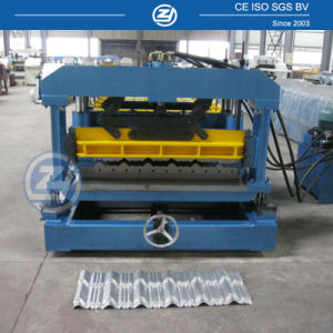 Step Tiles Aluminium Roofing Sheet Making Machine pictures & photos