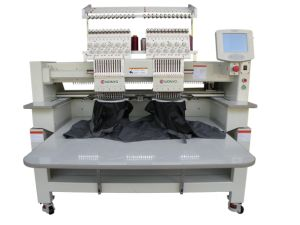 Double Head Tubular Type Cap Embroidery Machine Price pictures & photos