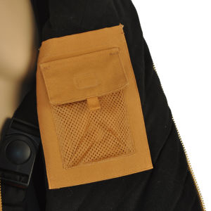 Canvas Duck Shell Quilted to Flame Retardant Twill Lining Workwear Jacket pictures & photos