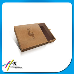 Kraft Paper Brwon Drawer Box Clothing Chocolate Gift Box Packaging pictures & photos