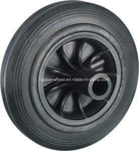 8inch Solid Rubber Wheel for 120L 240L Waste Bin