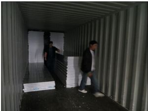 EPS (foam) Insulated Fireproof Waterproof Sandwich Panels for Prefab Home/House/ Building Materials pictures & photos