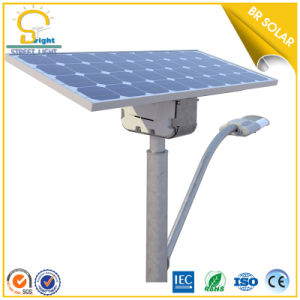 8m Pole 50W LED Solar Street Light to UAE, Kenya pictures & photos
