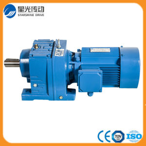 Helical Gear Electric Motor Speed Reducer pictures & photos