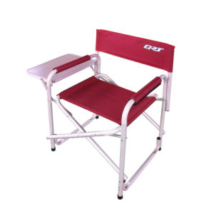 Folding Director Chair (with side board)