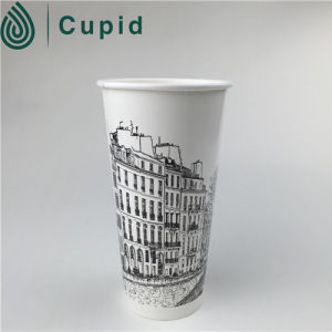 Single Wall Paper Coffee Cup, Customized Logos pictures & photos