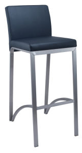 Fixed PU High Back High Chair pictures & photos