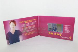10inch Video Brochure Digital Mailer Booklet with 2GB Memory Motion Sensor or Light Sensor
