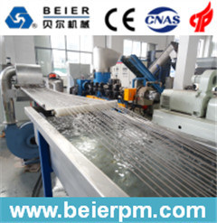 280-350kg/H Cold Strand PE/PP Film Agglomeration Pelletizing Line pictures & photos