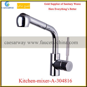 Sanitary Ware Pull out Spray Kitchen Sink Mixer pictures & photos