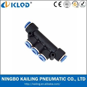 Cheap Plastic Material Pneumatic Fitting pictures & photos