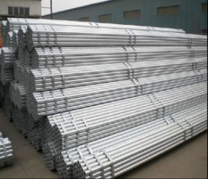 BS1139 En39 BS1387 Hot Dipped Galvanized Steel Pipe/Welded Pipe pictures & photos