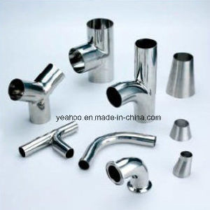 Sanitary Stainless Steel Ss304 Ss316L Tube Pipe Fitting