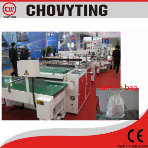 Automatic Plastic Polythene Material Rope Handle Tote Bag Making Machine pictures & photos