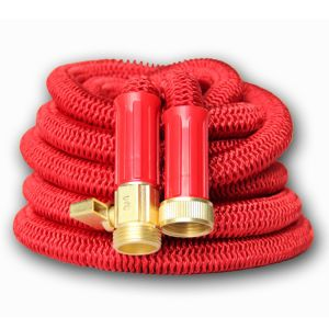 Solid Brass Ends Double Latex Core Extra Strength Fabric Strongest Expandable Garden Hose 25/50/75/100 FT Expanding Hose pictures & photos