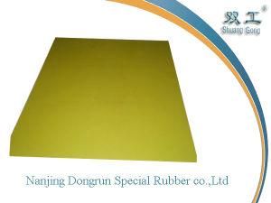 Natural Light Yellow Rubber Sheet