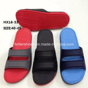 Men Summer Beach Slip-on Slipper Durable Slipper EVA Slipper Sandal (HX16-33) pictures & photos