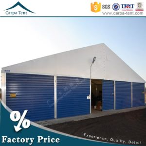 Wholesale Tent 25m Width Wind Resistant PVC Fabric Large White Warehouse Tent pictures & photos