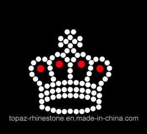 Wholesale Crown Iron on Clothes Hot Fix Rhinestone Motif (TM500-Crown) pictures & photos