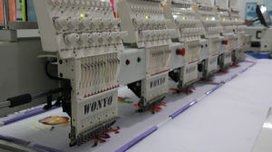 High Speed 6 Head Cap Embroidery Machine Manufacturer in Shenzhen China pictures & photos
