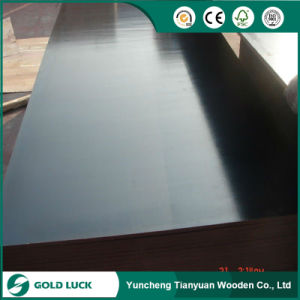 Smooth/Anti-Slip and Double-Sided Film Phenolic Plywood pictures & photos
