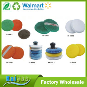 Microfiber Wax Applicator Pad with Pocket Car Clean Cleaning pictures & photos