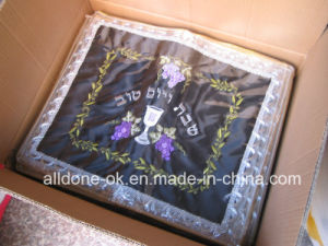 Embroidery Embroidered Jewish Challah Cover Judaica Supplies Products Bread Bible pictures & photos