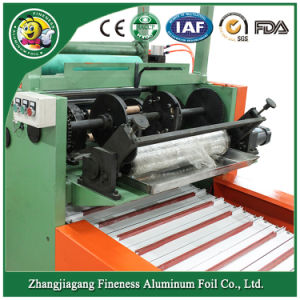 Automatic Aluminum Foil Rewinding and Cutter Machine Hafa-850 pictures & photos