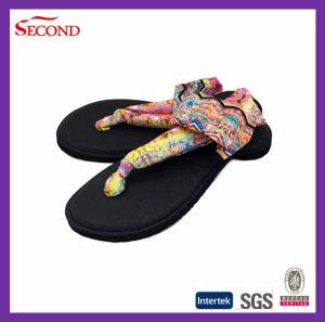 Latest Design Strap Ankled Elastic Sandals for Lady