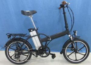 "20"" Aluminum Alloy Frame Big Saddle Folding E-Bike CE (JSL039XDL) pictures & photos"