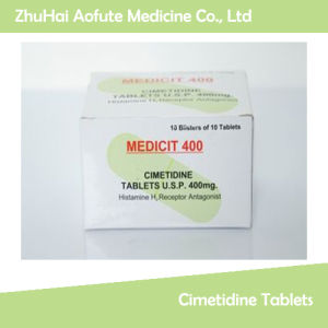 High Quality Medicial Cimetidine Tablets / Pills pictures & photos