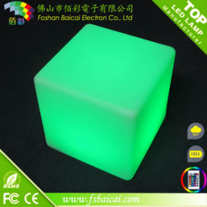 16 Colors Changing Party Event Bar Furniture LED Cube
