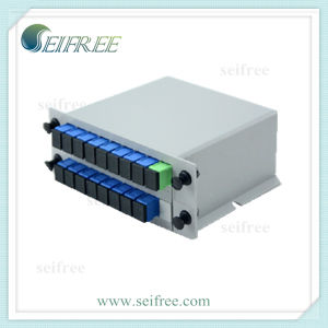 FTTH Install 1*16 PLC Fiber Optical Splitter with Single Mode pictures & photos