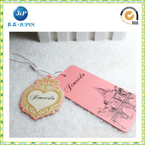 Wholesales Customized Logo Design Hang Tag with String (JP-HT072) pictures & photos
