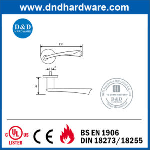 Customized Designs Ss Door Lock Handle for Europe (DDSH143) pictures & photos