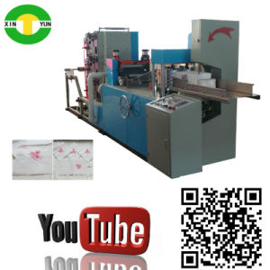 High Speed 1/6 Folding Paper Serviette Machine Paper Serviette Producing Machine pictures & photos